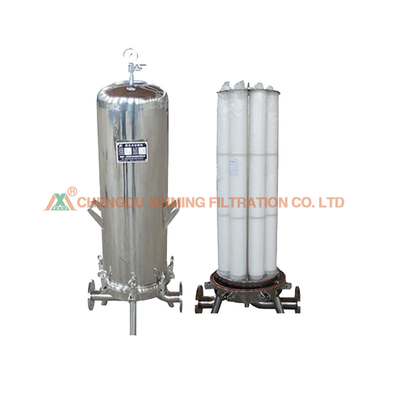 High Precision Stainless Steel Filter Press Water Cartridge Filter ≥0.8MPa Pressure