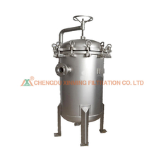 Inclosed Vertical Pressure Stainless Steel Filter Press In Chemical Industry